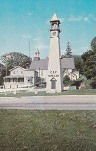 GAP, Pennsylvania, 1940s to Present; Gap Town Clock Overlooking William Penn'...