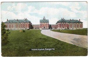 Bangor, Me, Insane Asylum