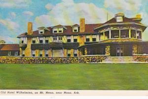 Arkansas Mena Hotel Wilhelmina On Mount Mena