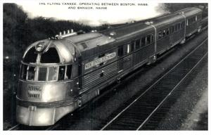 Flying Yankee Locomotive built 1935 by B and M no 6000