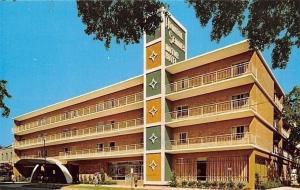Mobile Alabama~Admiral Semmes Hotel~Best Western~1960 Postcard