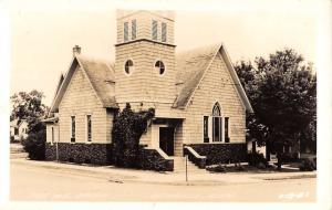 Ortonville Minnesota First ME Church Real Photo Antique Postcard K70474