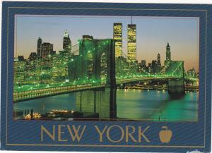Postcard United States New York The Brooklyn Bridge