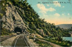 D/B Eggleston Tunnel Norfolk & Western Ry. VA 1913
