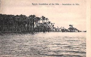Egypt, Egypte, Africa Inundation of the Nile  Inundation of the Nile