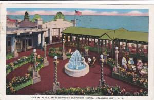 Ocean Plaza, Marlborough-Blenheim Hotel, Atlantic City, New Jersey, PU-1940