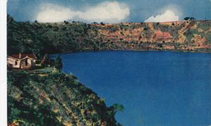 The Blue Lake , Mount Gambier , S.A. 40-50s