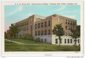 AR Arkansas Jonesboro - State College Admin Building - R.E. Lee Wilson Hall -...