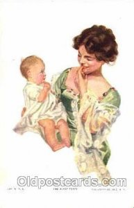 Artist Marion Powers Series 1038-1 1918 heavy corner wear right top corner, l...