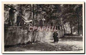 Old Postcard Lourdes Chemin Du clavaire