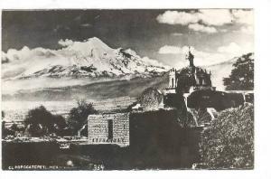 RP, El Popocatepetl, Volcano, Mexico, 1930-1950s
