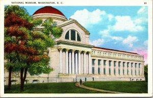 National Museum Washington, D.C. linen postcard