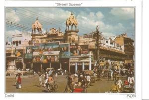 Postal 047244 : Street Scene Delhi India
