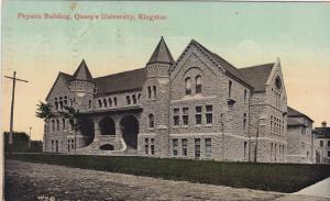 Physics Building, Queen's University, KINGSTON, Ontario, Canada, PU-1910