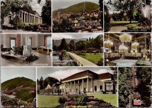 Baden-Baden Germany Multiview Unused Vintage Echte RPPC Real Photo Postcard D46