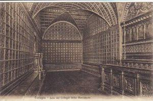 Sala Del Collegio Della Mercanzia, Perugia (Umbria), Italy, 1900-1910s