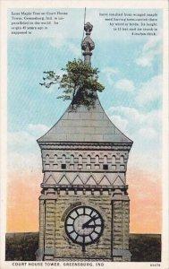 Court House Tower Greensburg Indana