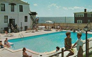 CAPE COD , Massachusetts ,1950-60s ; Terrace Gables Hotel , Swimming pool