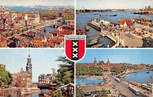 Different Views Holland 1961 Missing Stamp