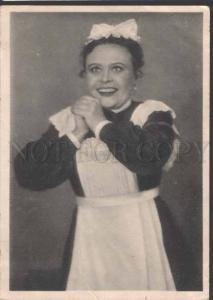 113109 KUZNETSOVA Russian DRAMA Theatre ACTRESS old RARE PHOTO