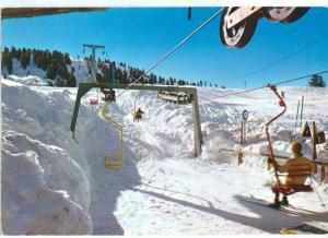 taly, Alpe Cermis, Cavalese (Trentino), 1972 used Postcard