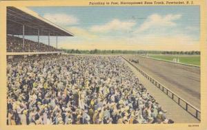 Parading to Post,Narragansett Race Track, Pawtucket, Rhode Island,30-40s