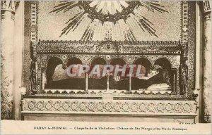 Old Postcard Paray Monial Visitation Chapel of St. Margaret Hunt Marc Alacoque