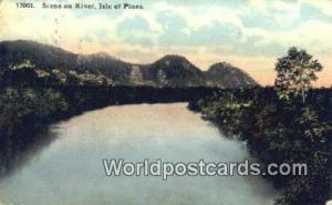 Isle of Pines Republic of Cuba Scene on River  Scene on River