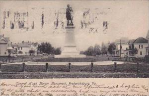 Virginia Fredericksburg General Hugh Mercer Monument 1908