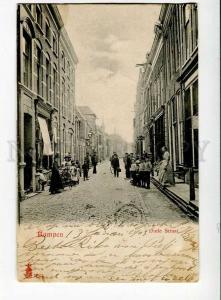 271252 Netherlands KAMPEN Oude Straat 1903 year RPPC