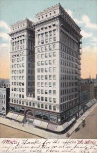 Wisconsin Milwaukee The Wells Building 1909 Curteich