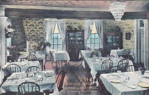 West Virginia Dining Hall General Lewis Hotel