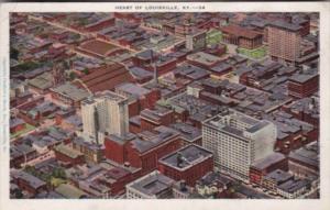 Kentucky Louisville Aerial View 1929