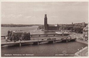 RP; STOCKHOLM, Sweden, 1920-1940s; Stromsborg Och Stadshuset