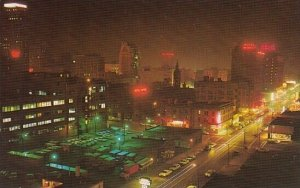 A Night Scene Taken From The 10th Floor Of One Of The 5th Avenue Hotels Birmi...