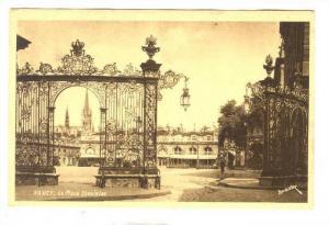 La Place Stanislas, Nancy (Meurthe-et-Moselle), France, 1900-1910s