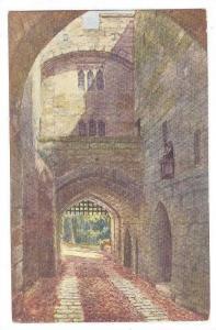 Gate House & Portcullis, Warwick Castle, England, UK, 1900-1910s