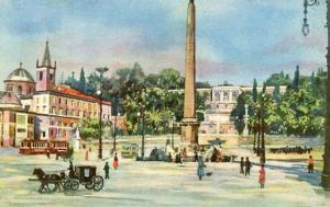 Italy - Rome, The People's Square
