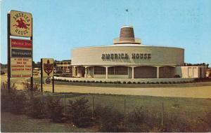Chesapeake Bay Virginia outside America House Motor Inn vintage pc Y15694