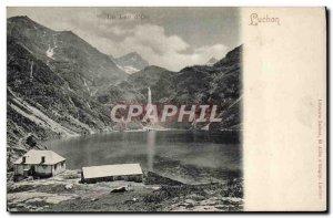 Old Postcard Luchon Lake
