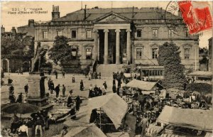CPA Limoges Place d'Aisne et Tribunal (611093)
