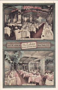 New York City Main Dinning Room And The Cave The Lobster Restaurant 1945