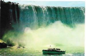 US Niagara Falls, New York. Horseshoe Falls, Canada