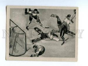 166954 VII Olympic ICE-HOCKEY Italy Austria CIGARETTE card