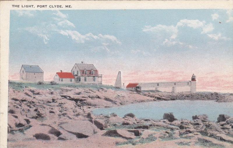 Maine Port Clyde , Lighthouse