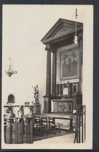 Unknown Location Postcard - Interior of a Church or Cathedral  RS7396