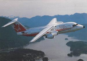 AirBC Air Canada Connector British Aerospace 146 Jet airplane, Canada , 60-70...
