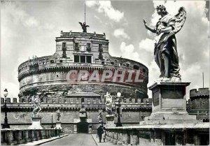 Postcard Modern Rome Castle St Angelo