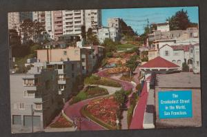 Lombard Street Crookedest Street In World San Francisco - Used