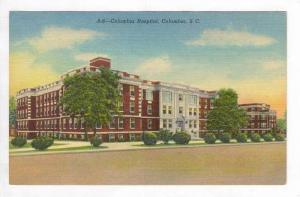 Columbia Hospital, Columbia,SC 1930-40s - South Carolina